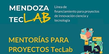 MENTORÍAS PARA PROYECTOS TecLab tickets