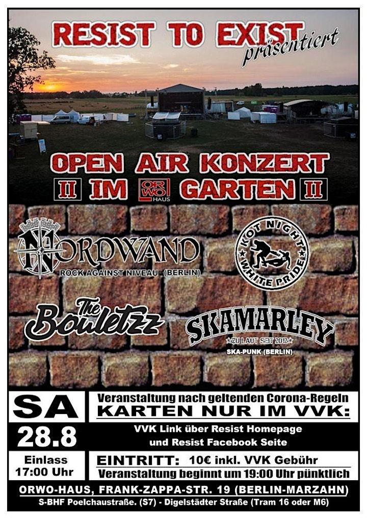 Open Air Konzert II Im ORWOGarten: Bild