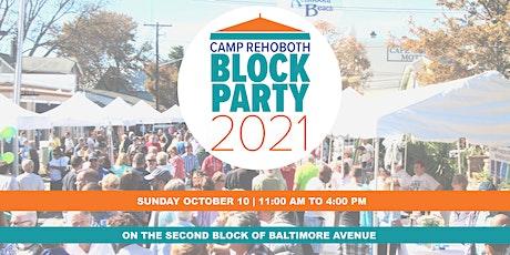CAMP Rehoboth Block Party Vendor Registration tickets