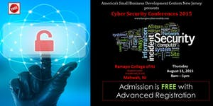 America's SBDC / Bergen: Cyber Security Conferences...