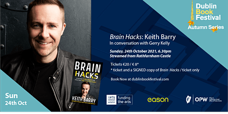 Brain Hacks: Keith Barry in conversation with Gerry Kelly tickets