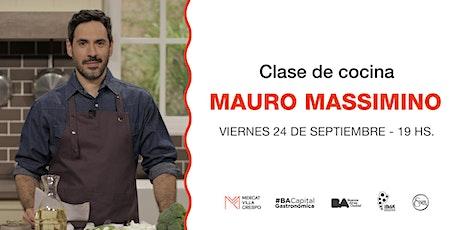 Mauro Massimino: Alimentación inteligente, cocina vegana y raw entradas