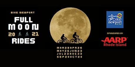 Bike Newport Full Moon Rides tickets