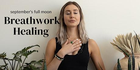 LIVESTREAM | Breathwork Healing for Septembers Full Moon tickets