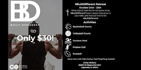 #BuiltDifferent Retreat tickets