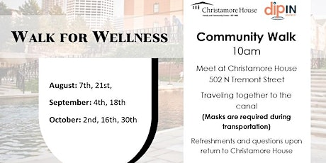Christamore House Walk for Wellness tickets