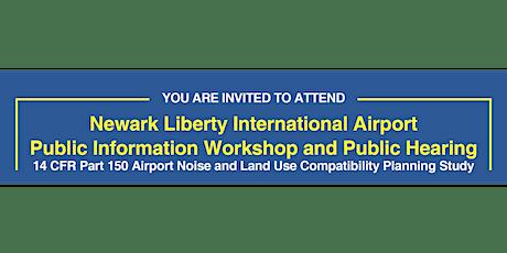 EWR Draft NCP Virtual Public Workshop and Public Hearing tickets