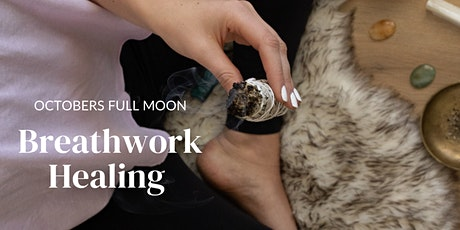 LIVESTREAM | Breathwork Healing for October's Full Moon tickets