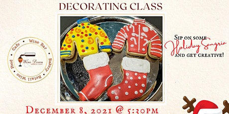 Ugly Sweater & Stocking Cookie Decorating tickets