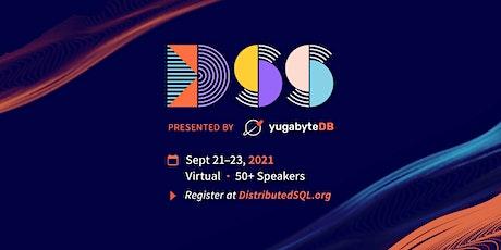 Distributed SQL Summit 2021 tickets