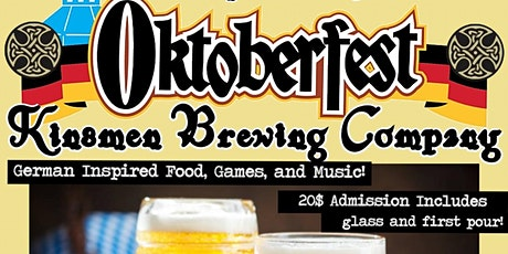 Kinsmen Oktoberfest 2021 tickets