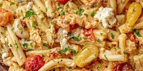 UBS - Virtual Cooking Class: Feta Pasta Bake tickets