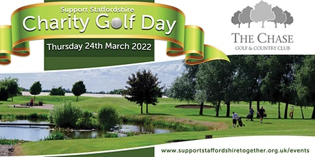 Support Staffordshire Charity Golf Day tickets