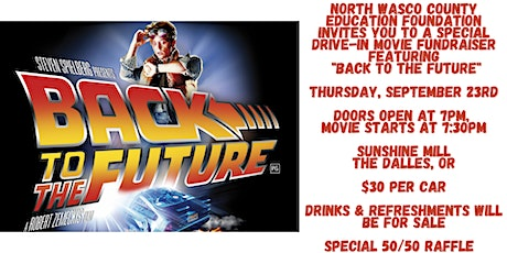 """Ed Foundation Movie Night Fundraiser- """"Back to the Future"""" tickets"""