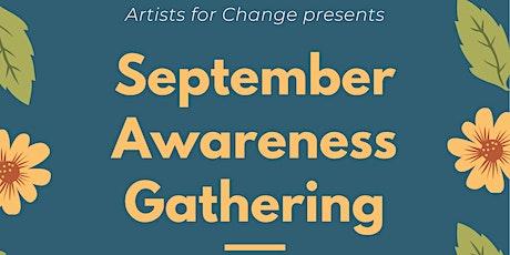 September  Awareness Gathering tickets
