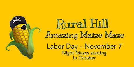 Amazing Maize Maze Weekdays tickets