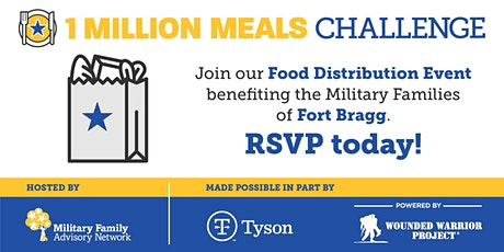 Fort Bragg Area Military Family Drive-Thru Food Distribution tickets