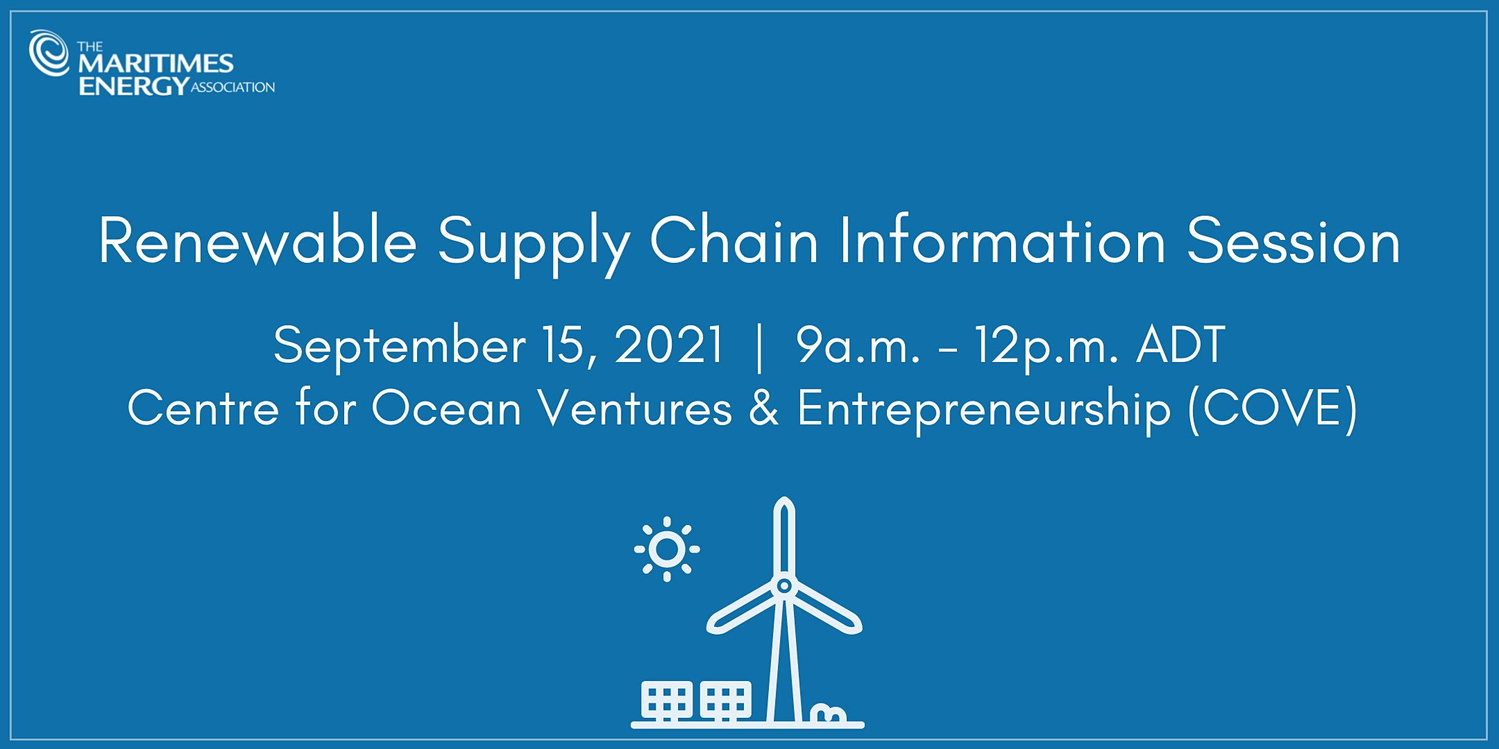 Renewable Supply Chain Information Session