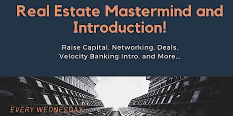 Real Estate Mastermind and Introduction (WA) tickets