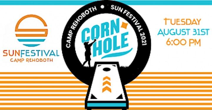 CAMP Rehoboth Sun Festival  Cornhole Tourny & Party at Little League Fields image