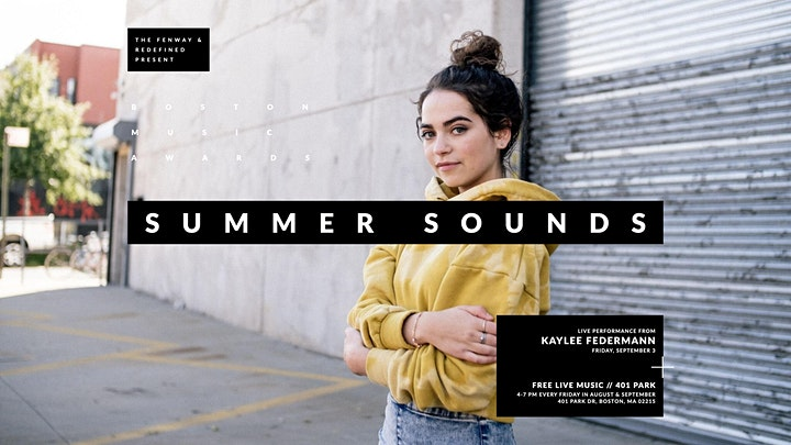 Summer Sounds with Kaylee Federmann and VQnC image