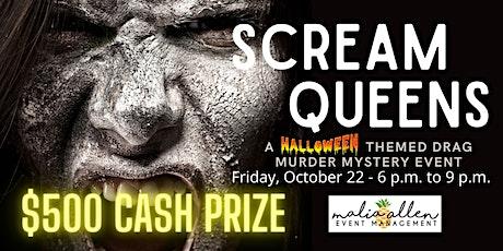 SCREAM QUEENS: A Halloween Murder Mystery Event tickets