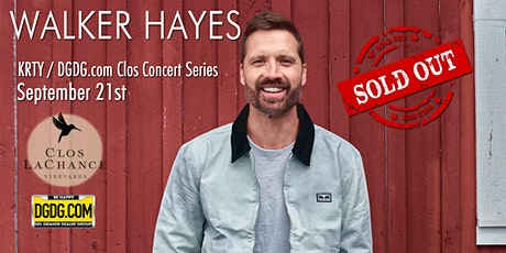 95.3 KRTY and DGDG.com Present Walker Hayes Fancy Like Clos Show tickets