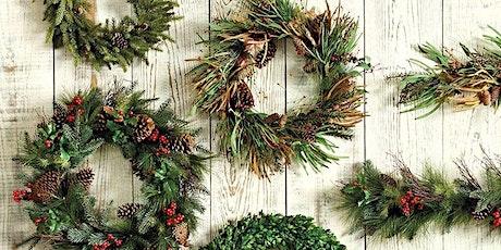 Evergreen Wreath Workshop tickets