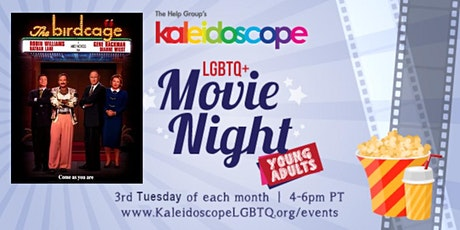 Young Adult LGBTQIA+ Movie Night: The Birdcage (1996) tickets