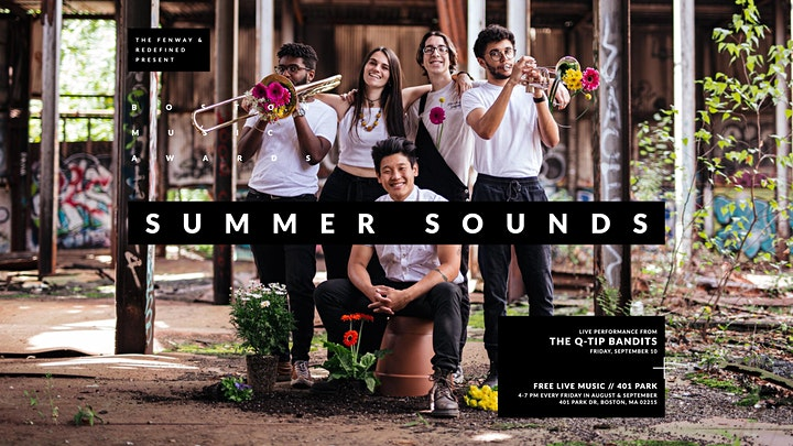 Summer Sounds with The Q-Tip Bandits and Maeko image
