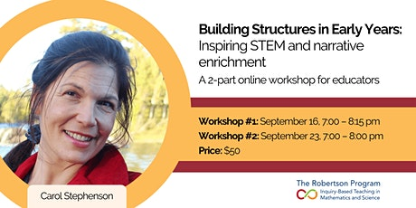 Building Structures in Early Years: Inspiring STEM and narrative enrichment tickets