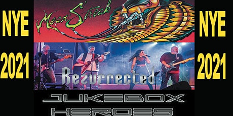 New Years Eve at Eleven with Meanstreak + Resurrected + Juke Box Heroes tickets