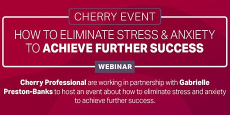 Eliminating stress and anxiety to achieve further success. tickets