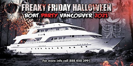 Freaky Friday Halloween Boat Party Vancouver 2021 tickets