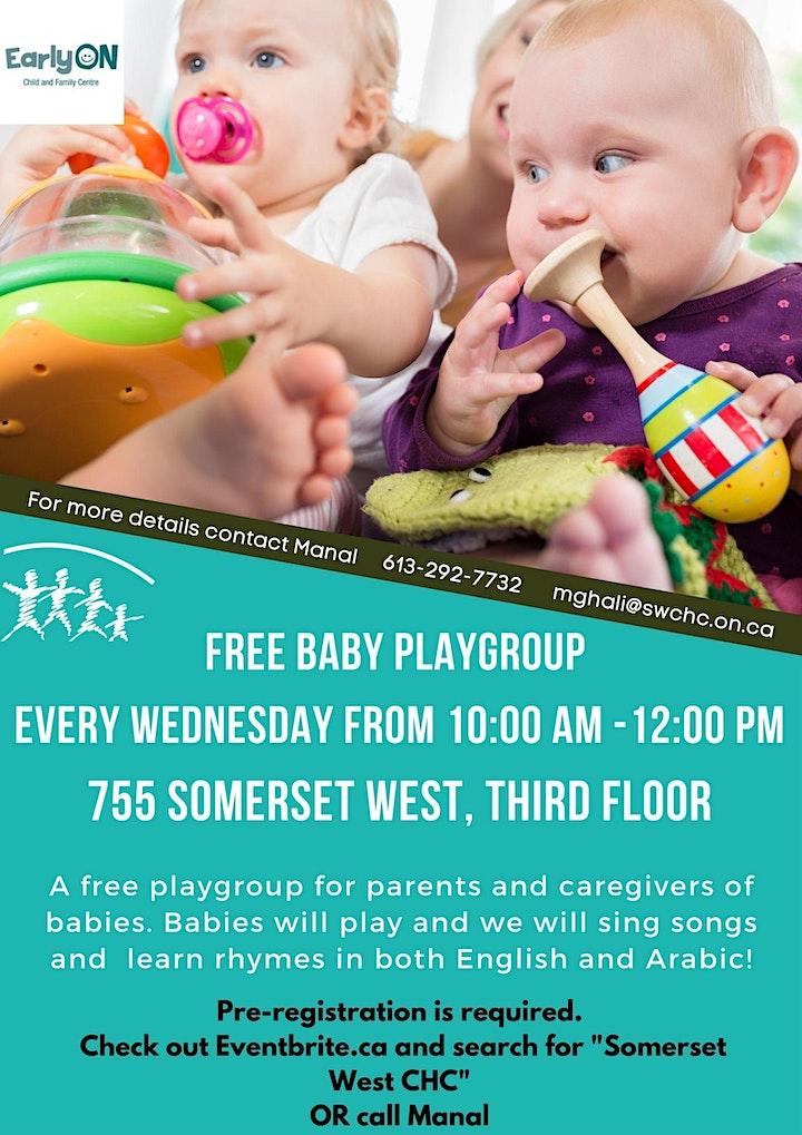 Free Baby Playgroup image