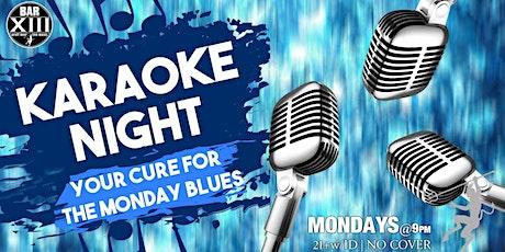 Monday Night Karaoke tickets