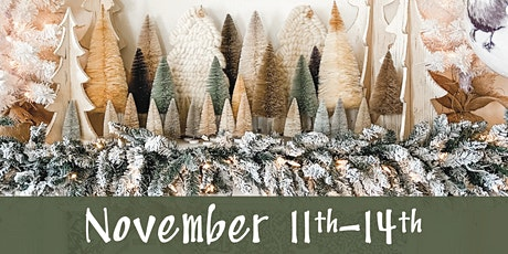 Lucketts Holiday Open House November 11th-14th tickets