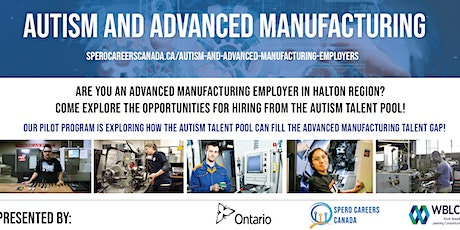 1 - Information for Halton Employers: Autism & Advanced Manufacturing tickets