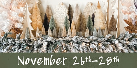 Lucketts Holiday Open House November 26th-28th tickets