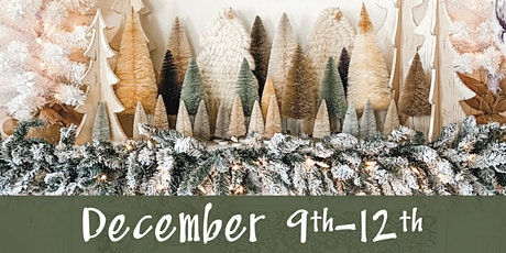 Lucketts Holiday Open House December  9th-12th tickets
