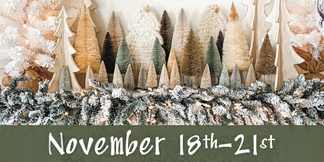 Lucketts Holiday Open House November 18th-21st tickets
