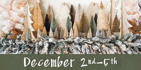 Lucketts Holiday Open House December  2nd-5th tickets