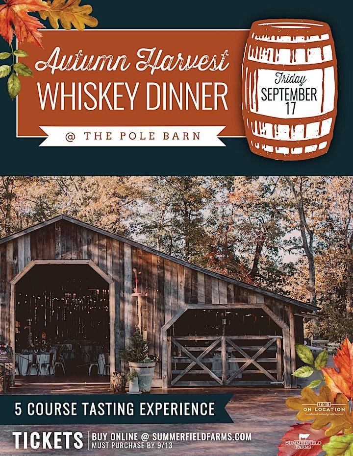 Autumn Harvest Whiskey Dinner 2021 image