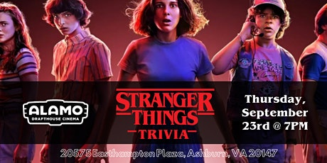 Stranger Things Trivia at Alamo Drafthouse Loudoun tickets