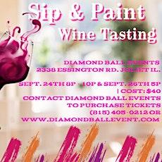 Sip & Paint Wine Tasting $40 Per Ticket tickets