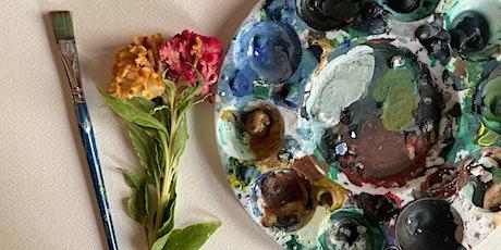 Beginner's Watercolor Workshop with Emily Wilson Gillespie tickets