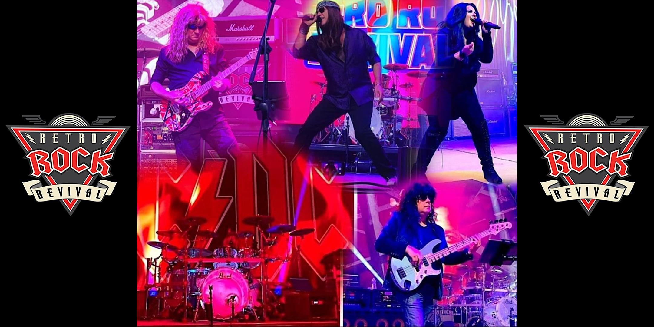 Retro Rock Revival – A Tribute to 80's Arena Rock!