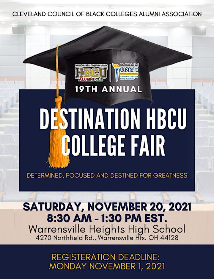 19th Annual Destination HBCU College Fair image