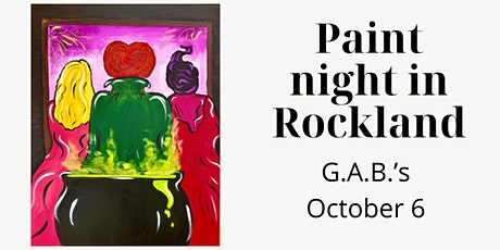 Paint Night in Rockland - Another Glorious Morning at G.A.B.'s tickets