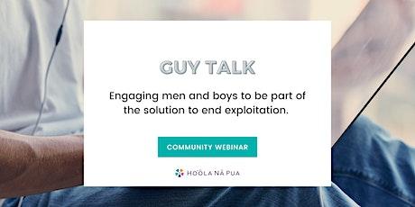Guy Talk: Fight Against Sex Trafficking tickets